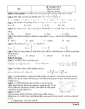 Tổng hợp 15 đề kiểm tra học kỳ 2 môn Toán lớp 8 (Có đáp án)