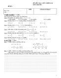 Tổng hợp 12 đề kiểm tra 1 tiết chương 3 môn Đại số 8