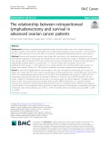 The relationship between retroperitoneal lymphadenectomy and survival in advanced ovarian cancer patients