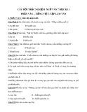 Tổng hợp 300 câu hỏi trắc nghiệm Ngữ văn 7 học kì 1