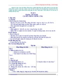 Giáo án tổng hợp trọn bộ các môn Tiếng Việt, Toán lớp 3