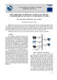 Điều khiển điện áp thông qua dự đoán giá trị mẫu của bộ đổi điện DC-DC trong các hệ thống lưu điện