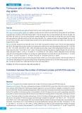 Tương quan giữa số lượng noãn thu nhận và kết quả điều trị thụ tinh trong ống nghiệm
