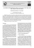 Xác định sự phân bố hàm lượng vật lơ lửng từ dữ liệu ảnh viễn thám ở vịnh Vân Phong