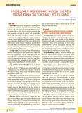 Ứng dụng phương pháp hycosy cải tiến trong đánh giá tử cung - vòi tử cung