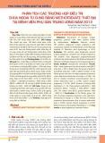 Phân tích các trường hợp điều trị chửa ngoài tử cung bằng methotrexate thất bại tại Bệnh viện Phụ sản Trung ương năm 2012