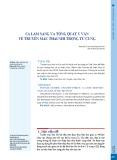 Ca lâm sàng và tổng quát y văn về truyền máu thai nhi trong tử cung