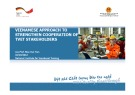 Lesson Vietnamese approach to strengthen cooperation of TVET stakeholders
