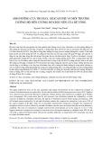 Ảnh hưởng của tro bay, Silicafume và môi trường dưỡng hộ đến cường độ chịu nén của bê tông