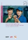 Vai trò của doanh nghiệp trong tổ chức và quản lý dạy nghề ở Việt Nam