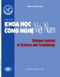 Tạp chí Khoa học và công nghệ Việt Nam – Số 4B/2020