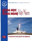 Tạp chí Khoa học và công nghệ Việt Nam – Số 7A/2020
