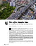 Đánh giá tác động giao thông cho dự án, công trình xây dựng mới