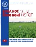 Tạp chí Khoa học và công nghệ Việt Nam – Số 6A/2020