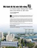 Mô hình đô thị nén bền vững và thách thức trong phát triển nhà cao tầng tại Việt Nam