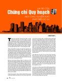 Vai trò của chứng chỉ quy hoạch, một công cụ kiểm soát phát triển đô thị