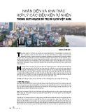 Nhận diện và khai thác hợp lý các điều kiện tự nhiên trong quy hoạch đô thị du lịch Việt Nam