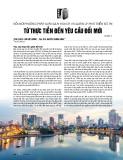 Đổi mới phương pháp luật quy hoạch và quản lý phát triển đô thị từ thực tiễn đến yêu cầu đổi mới