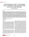 Giảm biểu hiện gen ABCC4 (ATP-binding cassette subfamily C) liên quan đến rối loạn tự kỷ trên mô hình ruồi giấm