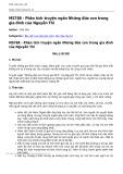 Phân tích truyện ngắn Những đứa con trong gia đình của Nguyễn Thi - Nguyễn Thị Yến