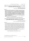 Nghiên cứu xây dựng quy trình nhân giống in vitro lan Kiếm Phan Trí (Cymbidium finlaysonianum Lindl.)