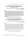 Ảnh hưởng của bổ sung Acid park 4 way 2X đến khả năng sản xuất thịt của gà broiler Cobb500 nuôi chuồng kín vụ Hè