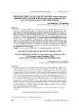 Thành phần thức ăn của loài Cóc mày phê Brachytarsophrys feae (Boulenger, 1887) và Cóc mắt bên Megophrys major (Boulenger, 1908) tại vườn quốc gia Xuân Sơn, tỉnh Phú Thọ