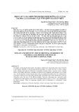 Phân lập và xác định thành phần dinh dưỡng của vi tảo Chlorella Ellipsoidea tại vườn quốc gia Xuân Thủy