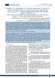 Nghiên cứu ảnh hưởng của giống, phân hữu cơ bón lót lên sự sinh trưởng và năng suất cây cải bẹ xanh (Brassica juncea L.) – Trường hợp điển hình ở thành phố Pleiku, tỉnh Gia Lai