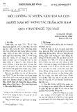 Môi trường tự nhiên, văn hóa và con người Nam Bộ trong tác phẩm Sơn Nam qua thành ngữ, tục ngữ