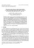 Cống phẩm trong mối quan hệ giữa địa phương và chính quyền trung ương dưới triều Lý (1009-1225) qua nguồn tư liệu thư tịch cổ của Việt Nam