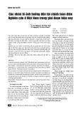 Các nhân tố ảnh hưởng đến tài chính toàn diện - Nghiên cứu ở Việt Nam trong giai đoạn hiện nay