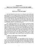 Chuyên đề 1: Pháp luật về kinh tế và luật doanh nghiệp