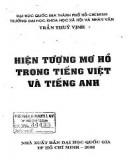 Hiện tượng mơ hồ trong tiếng Việt và tiếng Anh: Phần 1