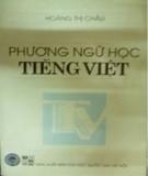 Phương ngữ học tiếng Việt: Phần 1