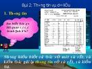 Bài giảng Tin học 10 - Bài 2: Thông tin và dữ liệu (Bùi Thanh Hoàn)