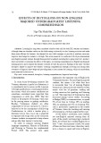 Effects of dictogloss on non-English majored undergraduates' listening comprehension