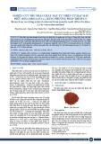Nghiên cứu thu nhận chất màu tự nhiên từ hạt màu điều (Bixa Orellana L.) bằng phương pháp trích ly