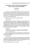Tương đồng và khác biệt giữa thơ Nôm thế sự Nguyễn Trãi và Nguyễn Bỉnh Khiêm