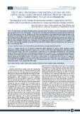 Tối ưu hóa thành phần môi trường lên men rẻ tiền chủng Bacillus subtilis lh1 bằng phương pháp quy hoạch thực nghiệm phục vụ sản xuất probiotic