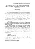 Nội dung giáo dục đạo đức nghề nghiệp cho sinh viên Tâm lí học - Quản trị nhân sự trường Đại học Hồng Đức