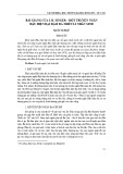 Bài giảng của I. B. Singer - Một truyện ngắn hậu hiện đại đậm đà triết lí nhân sinh