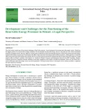 Development and challenges for the functioning of the renewable energy prosumer in Poland: A legal perspective