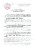 Tài liệu họp báo công bố Luật Lao động 2019