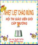 Bài giảng Đại số 10 - Bài 3: Phương trình và hệ phương trình bậc nhất nhiều ẩn (Nguyễn Văn Hòa)