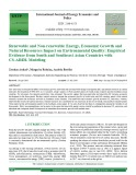 Renewable and non-renewable energy, economic growth and natural resources impact on environmental quality: Empirical evidence from south and southeast asian countries with CS-ARDL modeling
