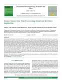 Future natural gas price forecasting model and its policy implication
