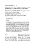 Sử dụng vùng ITS-rDNA và gen matK để xác định loài sâm thuộc chi sâm (panax) ở vùng núi Phu Xai Lai Leng, Kỳ Sơn, Nghệ An