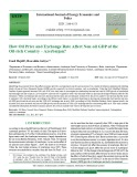 How oil price and exchange rate affect non-oil GDP of the oil-rich country – Azerbaijan