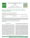 Stock prices reaction to oil price fluctuations: Empirical evidence from Nigeria